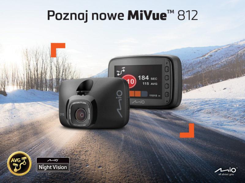 Mio MiVue 812 – nowy wymiar nagrań w 60 FPS