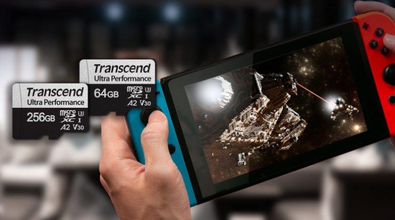 MicroSDXC 340S od TRANSCEND – karta pamięci do konsoli przenośnej, kamery GoPro i drona