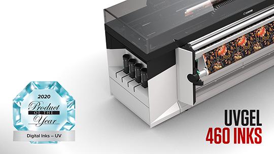 SGIA Award UVgel 460 inks 540x304 tcm125 2028550