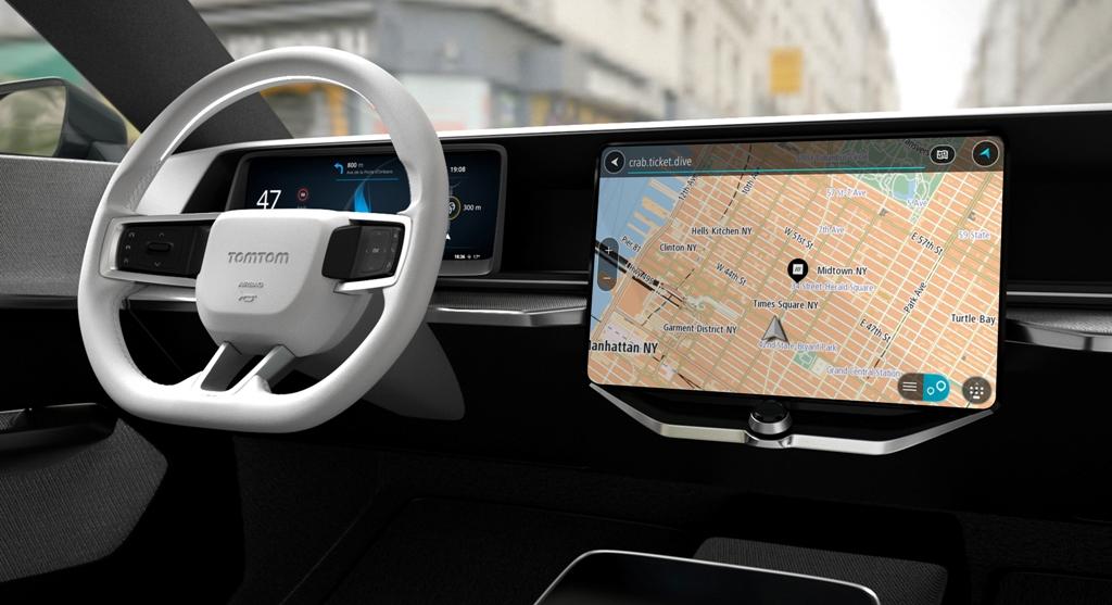 Mitsubishi wprowadza na rynek nowy Eclipse Cross z TomTom Connected Navigation