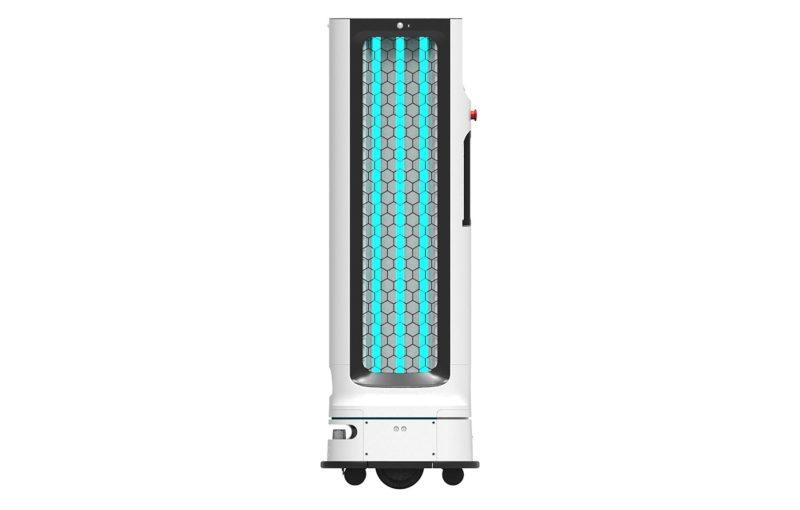 Autonomiczny robot z dezynfekującą lampą UV – innowacyjne rozwiązanie LG do zastosowań B2B