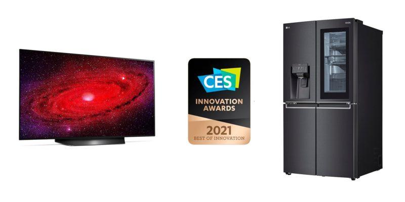 Firma LG uhonorowana CES 2021 Innovation Awards