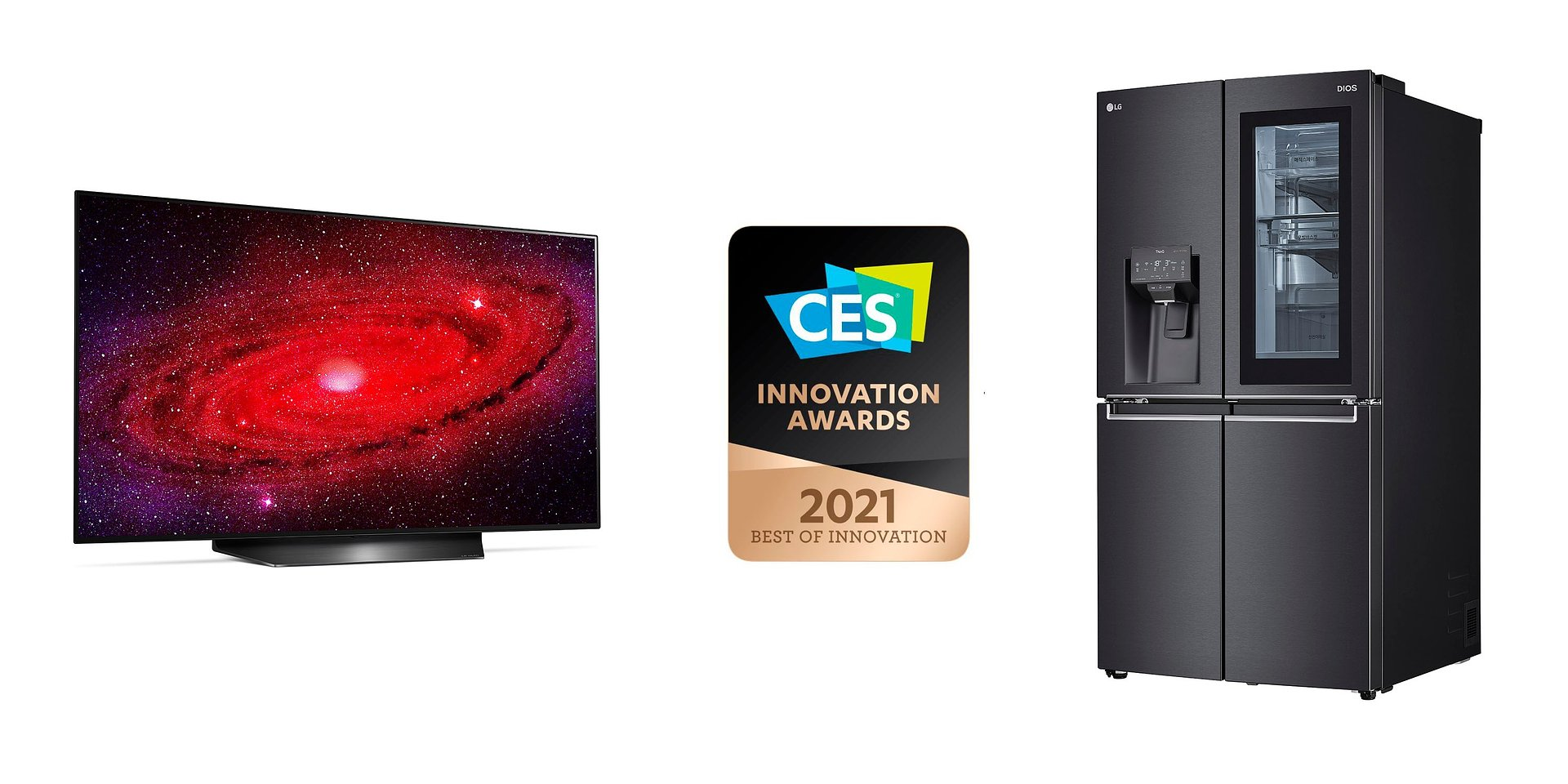 Firma LG uhonorowana CES 2021 Innovation Awards