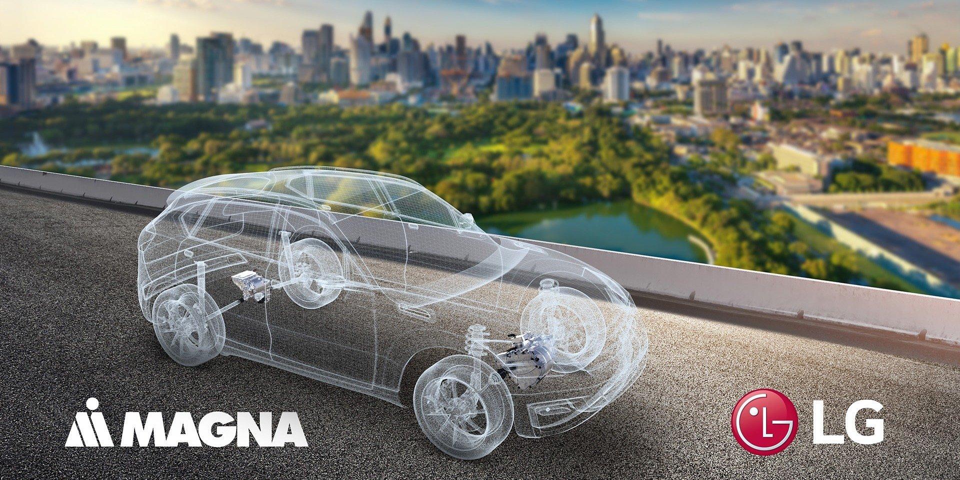 Firmy LG i MAGNA podpisały umowę joint venture, aby prowadzić wspólne działania na rynku elektrycznych układów napędowych