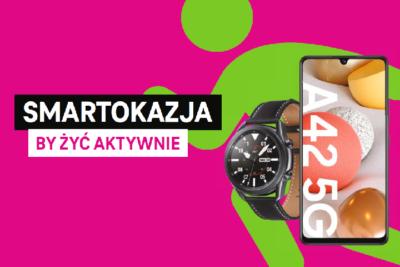 Smartokazje w T-Mobile – wybierz swój smartfon lub smartwatch i aktywnie zacznij nowy rok