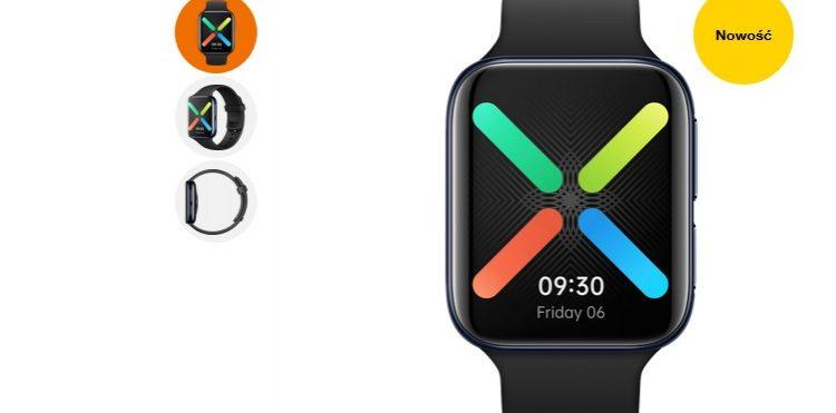 Najnowszy smartwatch OPPO 46mm eSIM w promocyjnej cenie