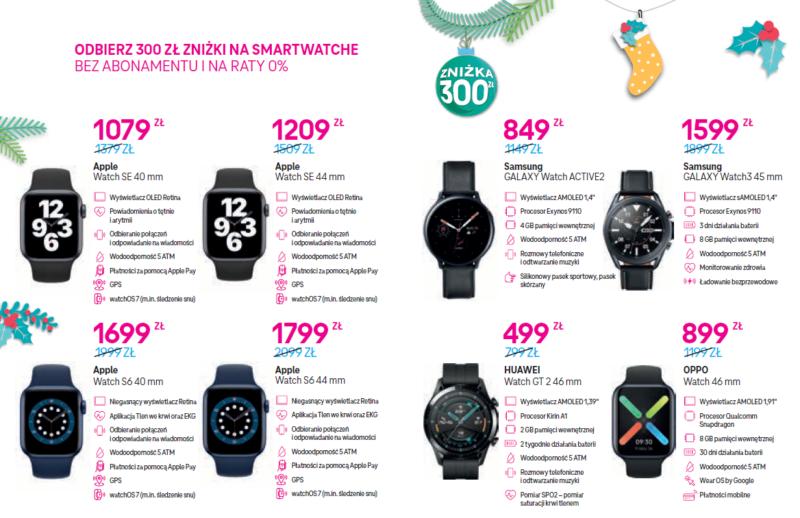 swiateczne smartwatche ze znizka 300 zl od t mobile ii