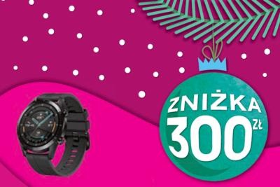 Świąteczne smartwatche ze zniżką 300 zł od T-Mobile