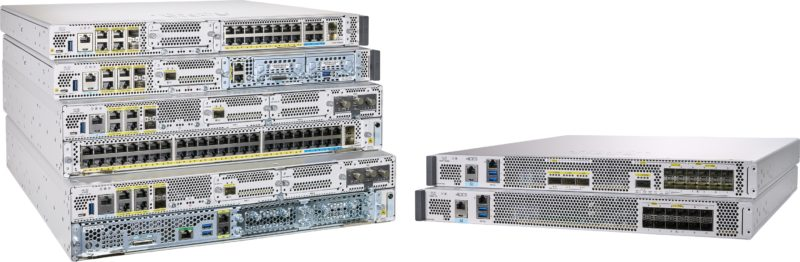 tn cisco catalyst 8000 edge platforms family 8300 on left and 8500 on right 201020 022530