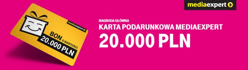 zgarnij 20 tys. zlotych na karcie podarunkowej w konkursie t mobile ii