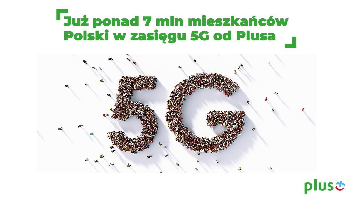 Plus poszerza zasięg 5G