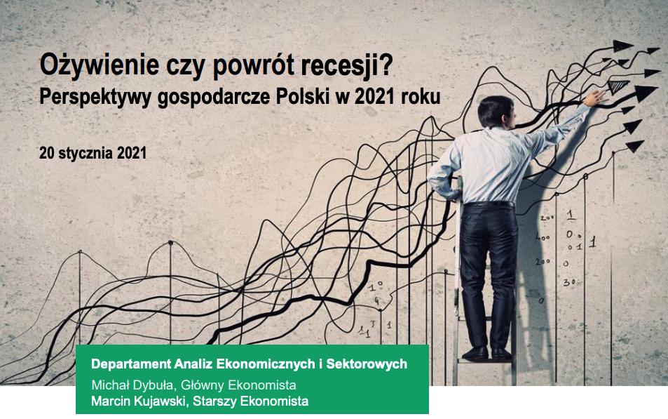 Ożywienie czy powrót recesji? Perspektywy gospodarcze Polski w 2021 roku
