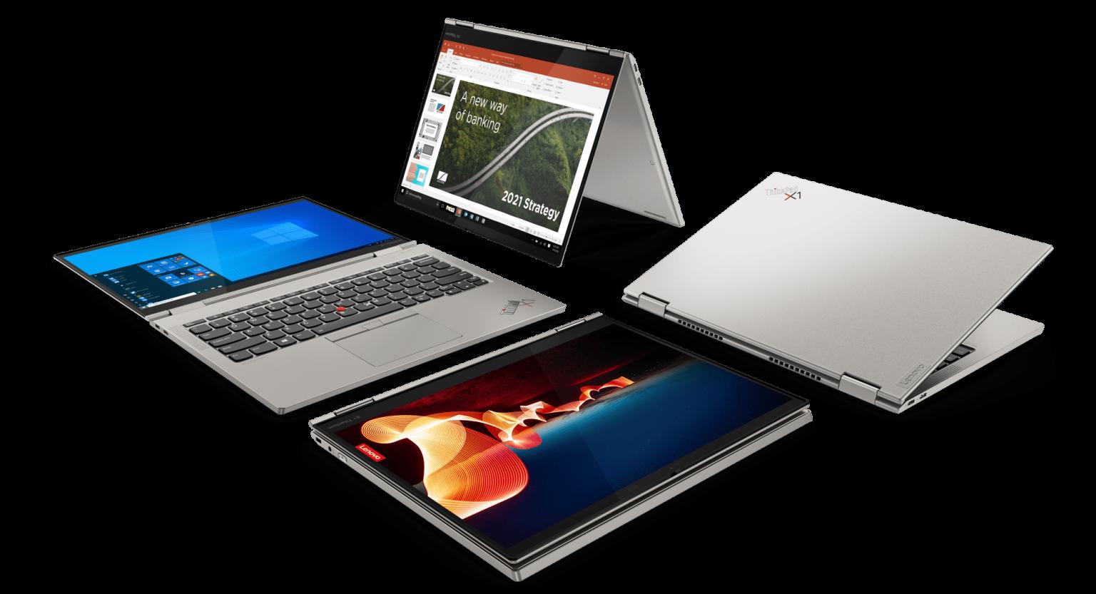 Najsmuklejszy ThinkPad w historii, X1 Titanium Yoga, dopełnia ofertę laptopów X1 zoptymalizowanych pod kątem telekonferencji