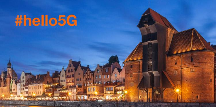 5G od Orange rusza w Trójmieście