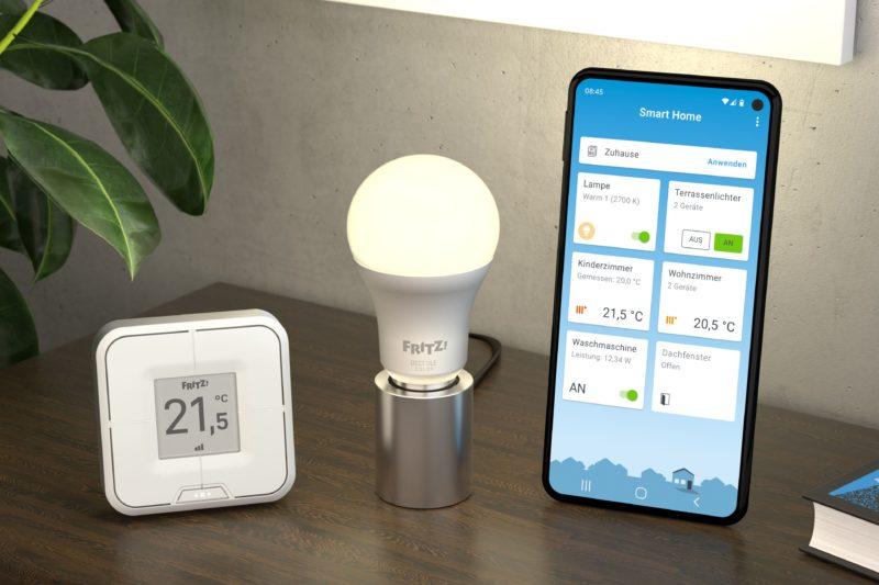 AVM FRITZDECT 440 und 500 und FRITZApp Smart Home Ambiente 1