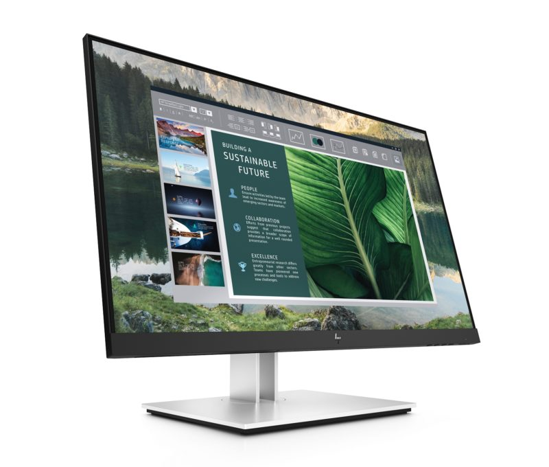 HP E24u G4 USB C Monitor Front Right