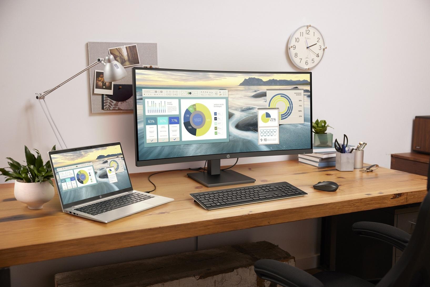 HP prezentuje nowe komputery przeznaczone do pracy zdalnej i biurowej