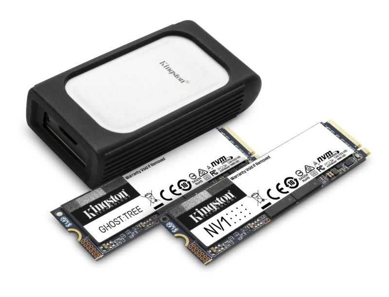 Firma Kingston Digital Europe Co LLP, wytwarzająca urządzenia pamięci flash spółka stowarzyszona firmy Kingston Technology Company Inc., największego na świecie producenta pamięci ipowiązanych rozwiązań technologicznych, poinformowała o nadchodzącej prezentacji nowych dysków SSD NVMe w czasie tegorocznych cyfrowych targów CES® 2021.