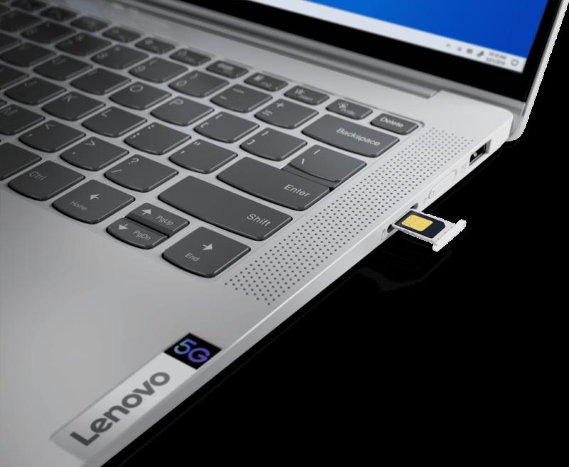 Lenovo IdeaPad 5G SimCard 1024x841