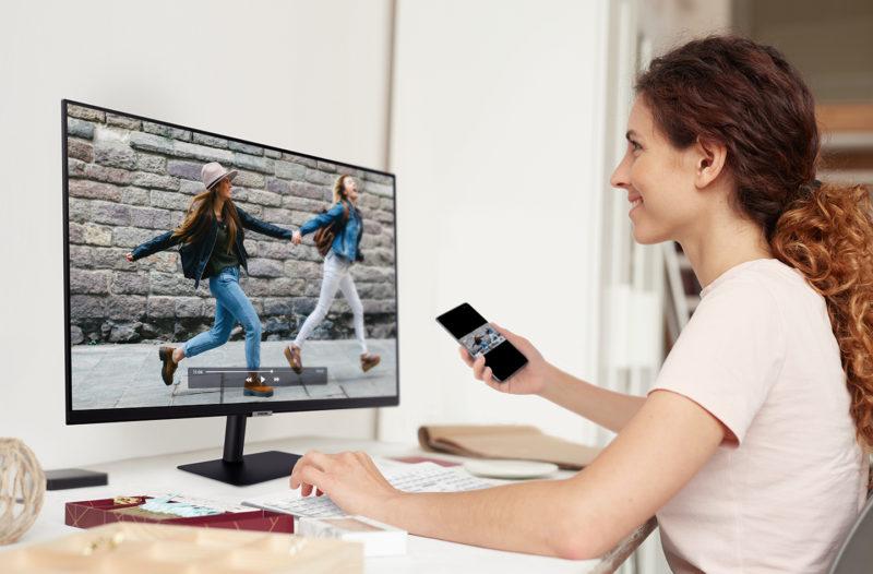 Smart Monitor Lifestyle Image 2