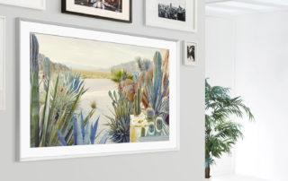 Udany debiut telewizora Samsung The Frame podczas rekordowej 47. Aukcji Nowej Sztuki