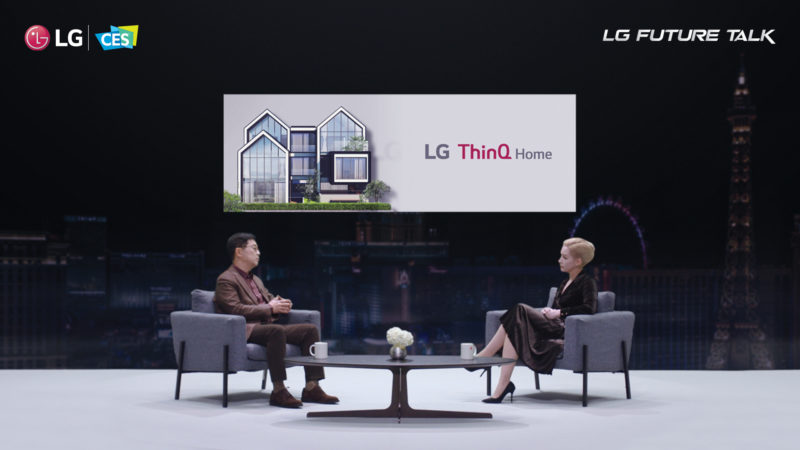 """CES 2021: LG gości liderów firm technologicznych podczas wirtualnego panelu """"Future Talk"""" o znaczeniu otwartej innowacji w nowej erze"""
