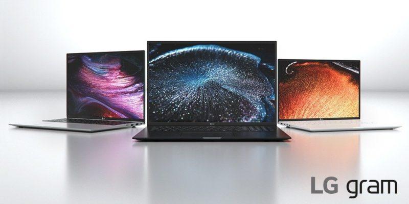 Ultrabooki LG gram 2021 zachwycają dużymi ekranami o proporcjach 16:10 i nowym eleganckim designem