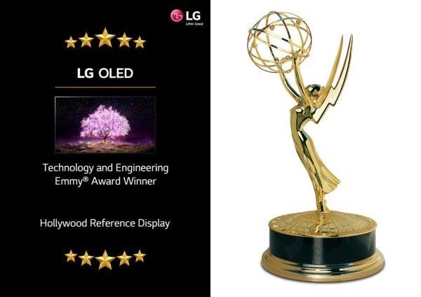 Telewizor LG OLED wyróżniony na 72. dorocznej gali Technology & Engineering Emmy® Awards