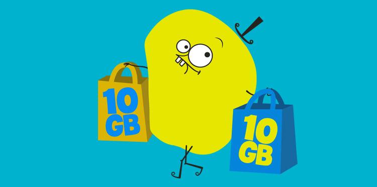 10 GB dla wszystkich klientów nju na nowy rok