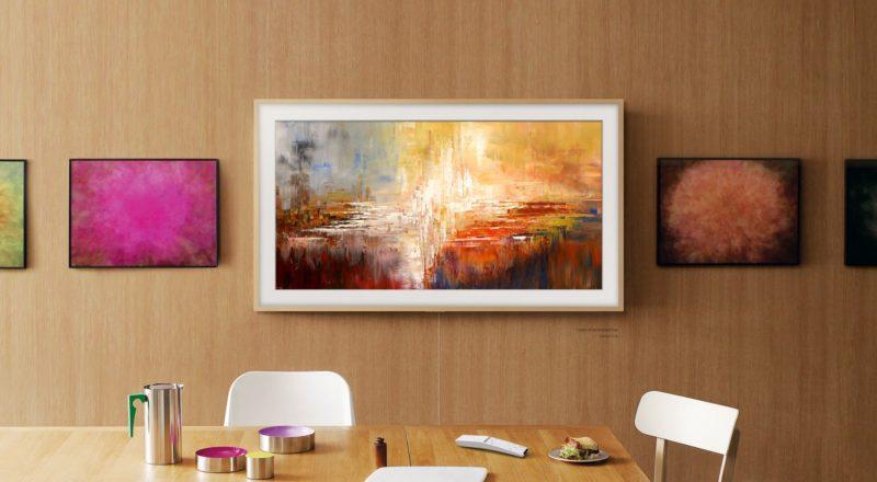 Telewizor The Frame debiutuje na Aukcji Nowej Sztuki