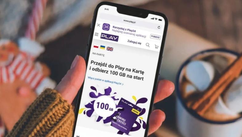 100 GB na start w Play na Kartę