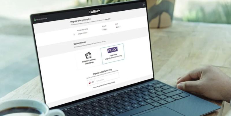 Zapłać z Play za pakiety CANAL+ online