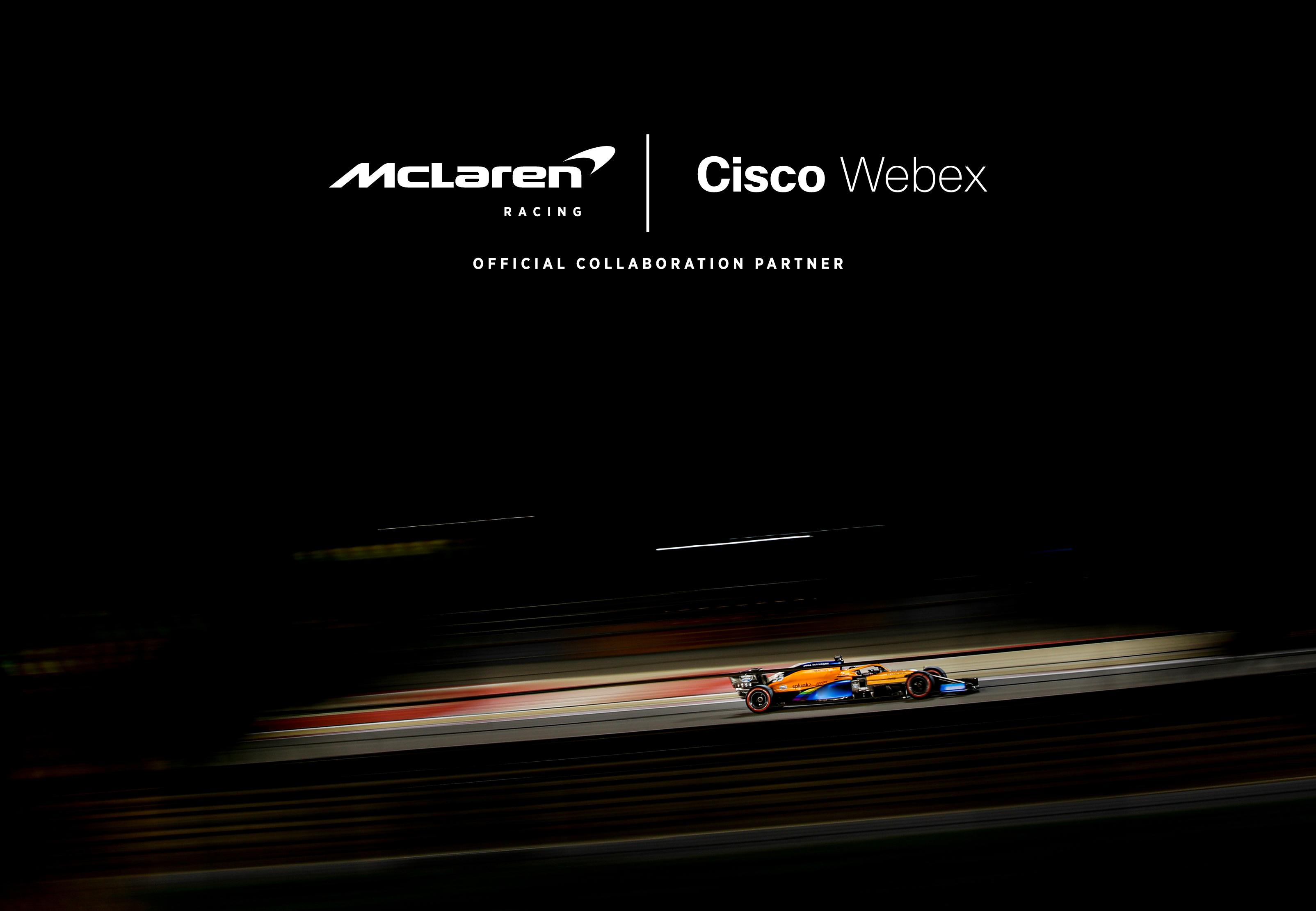 Cisco Webex oficjalnym partnerem zespołu Formuły 1 McLaren w obszarze narzędzi do współpracy i komunikacji