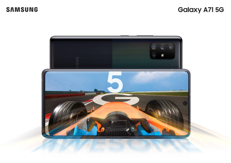 Galaxy A71 5G Fin