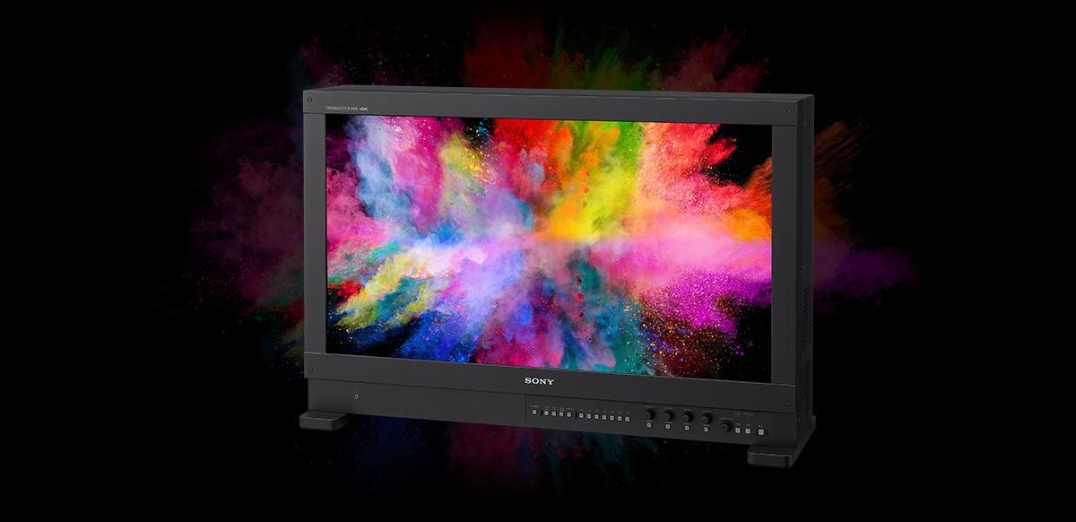 Monitory referencyjne Sony OLED wyróżnione prestiżową nagrodą Emmy® w kategorii technologii i inżynierii