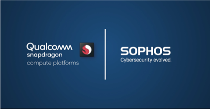Sophos InterceptX Qualcomm Snapdragon logo