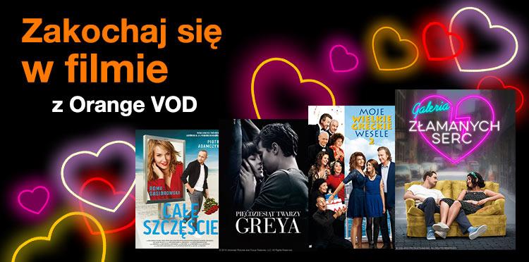 Walentynkowy maraton filmowy z Orange VOD