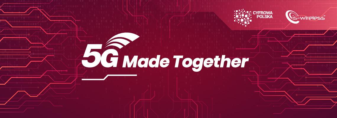 5G Made Together – w lutym konferencja o udziale polskich firm w budowie sieci piątej generacji