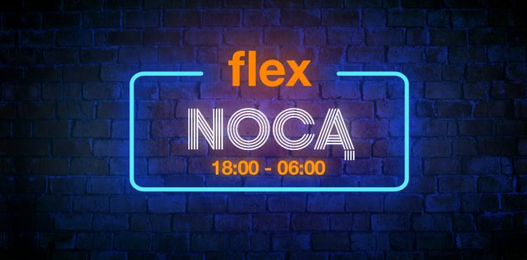 Flex Nocą i końcówki serii do 45% taniej w Sklepie Flex