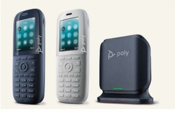 Poly prezentuje bezprzewodowy telefon z technologią antybakteryjną
