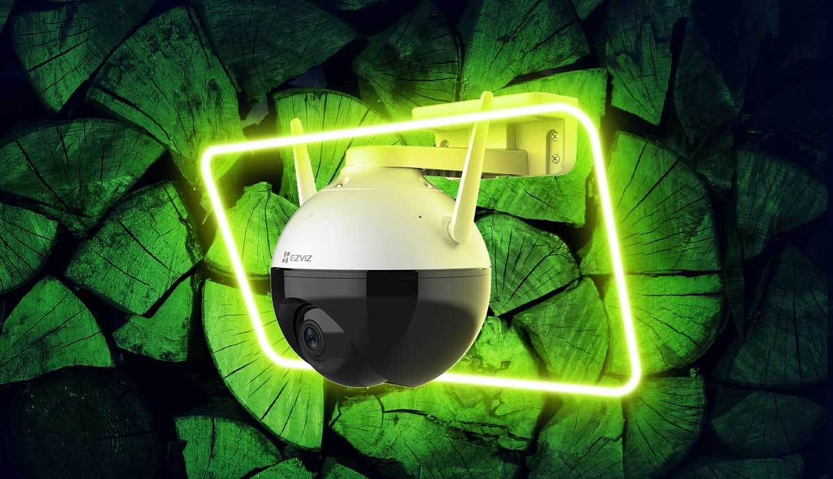 C8C - pierwsza zewnętrzna kamera obrotowa Ezviz