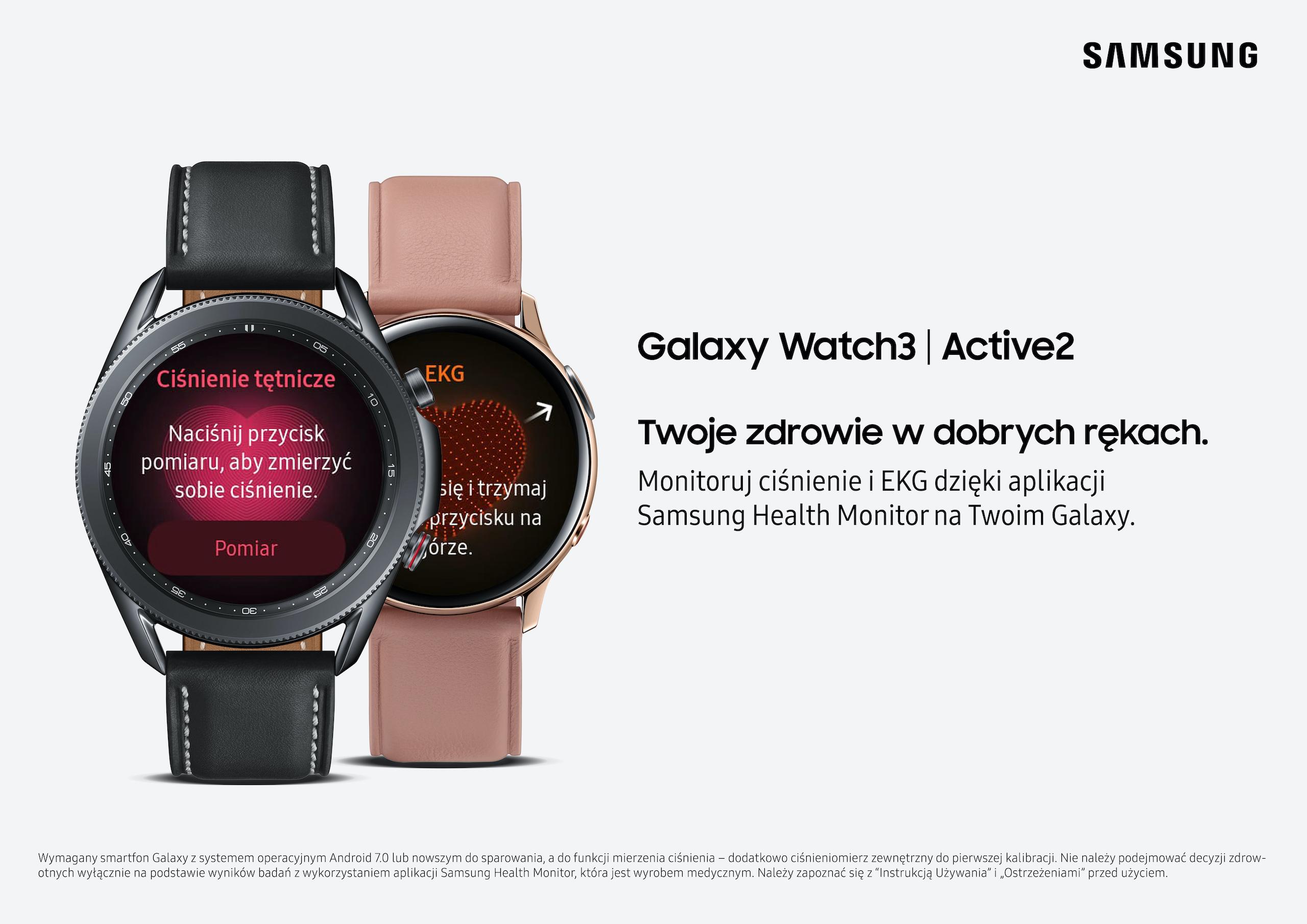 Aplikacja Samsung Health Monitor już dostępna na wybranych urządzeniach Samsung Galaxy