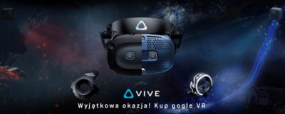 Wyjątkowa okazja – gogle VR do 1000 PLN taniej