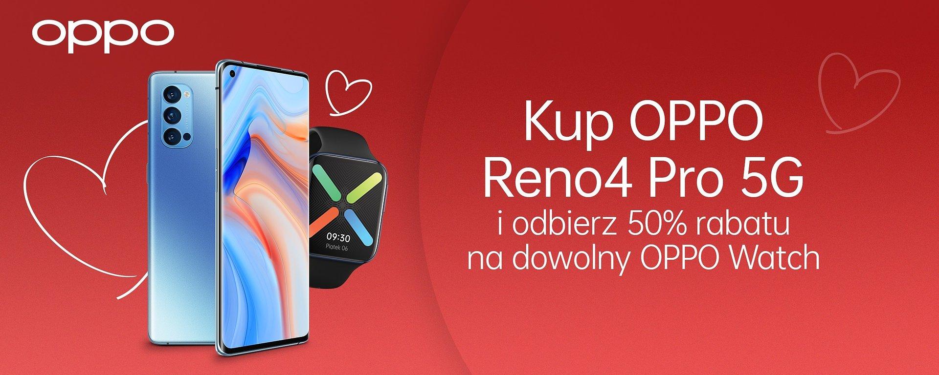 Kolejne promocje OPPO w lutym rabaty na smartfony smartwatche za pół ceny i gadżety w prezencie