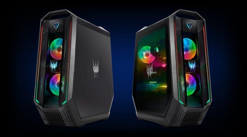 Acer: Komputery gamingowe Predator Orion z nowymi kartami graficznymi