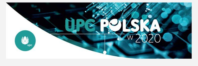 W 2020 roku UPC osiągnęło najlepsze wyniki w ostatnich latach, zdobywając coraz większe zaufanie klientów