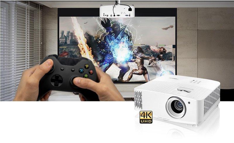 Optoma prezentuje szybki jak błyskawica projektor 4K do gier i domowej rozrywki – UHD35