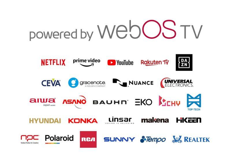 LG otwiera platformę webOS Smart TV dla partnerów z branży