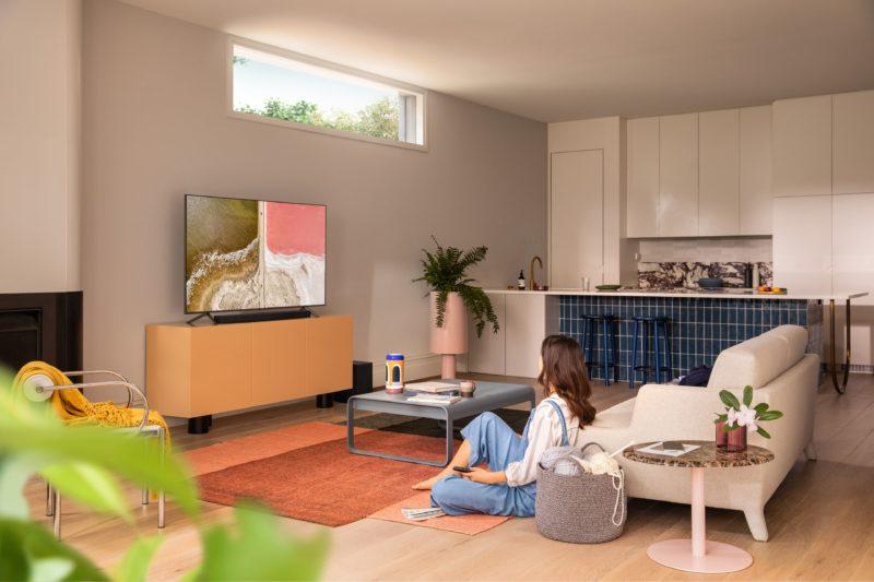 Telewizor Samsung QLED z soundbarem w promocji