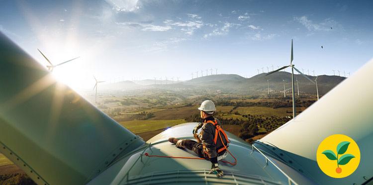 Energia ze słońca i wiatru